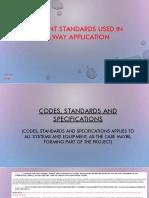 Standards for Transit System