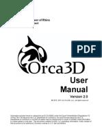 Orca3D Help