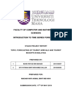 Forecasting of Tourist Arrivals in Malaysia