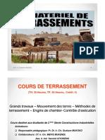 Terrassement Génie 2 Constructions Industrielles 2015 [Mode de Compatibilité]