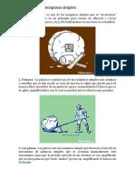 20 Ejemplos de Máquinas Simples