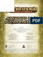 Pathfinde 20ITA GeneratorediRazze Advanced Race Guide Playtest