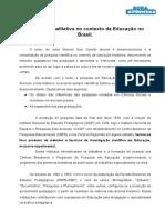 Zanetti - Resumo Pesquisa Qualitativa