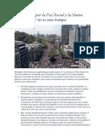 El Acuerdo Por La Paz Social y La Nueva Constitución