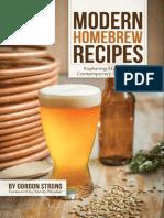 Modern Homebrew Recipes (PDF)
