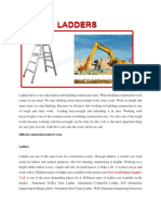 Ladders are Important at Building Construction Sites