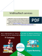 Vridhisoftech services