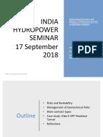 Hydro Seminar