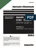 Pc300-8 e Pc350-8 Operação e Manutenção