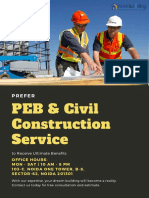 PEB and Civil Construction Service - Mak Building System Private Limited