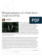 Misappropriation of a Trade Secret Under the DTSA - IPWatchdog.com _ Patents & Patent Law.pdf