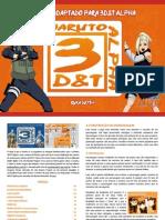 Naruto 3D&T Alpha