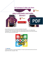 How to Play Real Money Ludo Game and Win Real Money