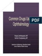 Common Drugs Use in Ophthalmology [Compatibility Mode]