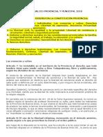Derecho Publico Provincial y Mpal - DANIEL 2019