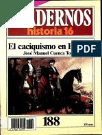 Cuadernos De Historia 16 188 El caciquismo en España 1985.pdf