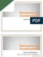elementos de combinatoria