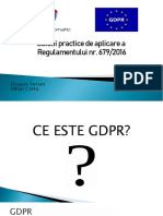 Suport Curs GDPR