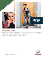 Katalog Schindler 3100 Low