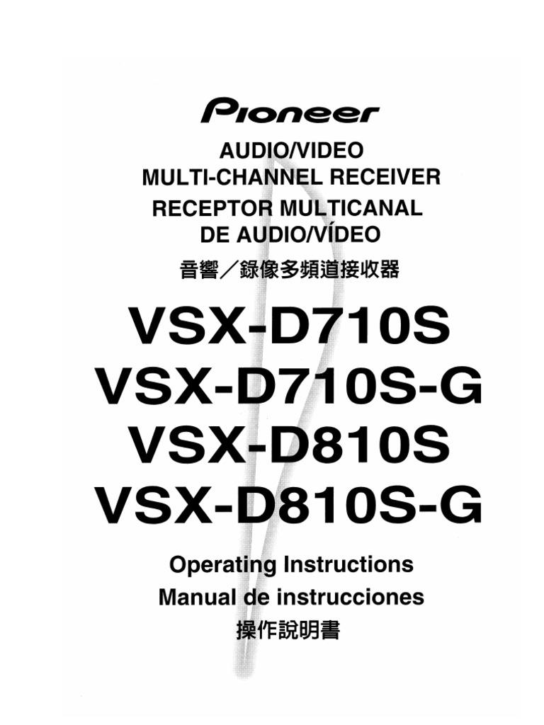 Manual Del Pioneer
