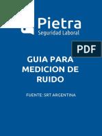Guia Para Medicion de Ruido (Resolucion 85-12)