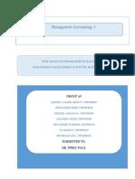 Accounts Project Report