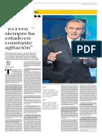 El Perú Siempre Ha Estado en Constante Agitación