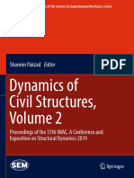 (Conference Proceedings of the Society for Experimental Mechanics Series) Shamim Pakzad - Dynamics of Civil Structures, Volume 2_ Proceedings of the 37th IMAC, A Conference and Exposition on Structura