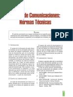 Cuarto de Comunicaciones Normas Técnicas