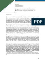 Análisis de La Jurisprudencia de La Sala Político Administrativa Del Tribunal Supremo de Justicia Sobre Temas Militares 2007 2017