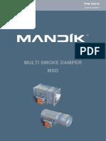 Volet-De-Desfumare-MSD Bun Cu Dimensiuni Mari Montaj Pe Tubulatura