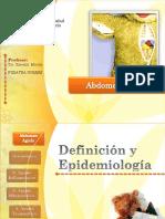 Abdomen Agudo Catedra 1 Pediatría