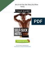 -X593.Book- Free PDF Self-Suck Hotel (a Hot Gay Sex Story) by Ethan Haney