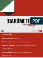 BAROMETRO DEL TRABAJO