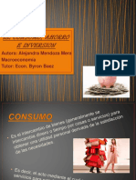 El Consumo, Ahorro e Inversion