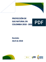 Proyeccion Gas Natural 2018-2032