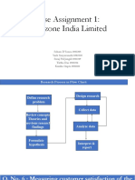 Marketing Research_Fruitzone India Limited
