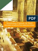 Le règlement du marché et des animations du marché de Noël de Strasbourg