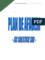 SC Solstice SRL Plan de Afaceri