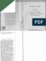 03 - Schiller - Kallias - Cartas Sobre La Educación Estética Del Hombre-OCR