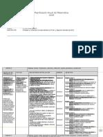 Planificacion Anual Matematica 8basico 2014