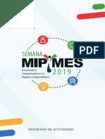 Programa Semana Mipymes 2019