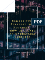 Creating an Unbeatable Business- Competitive Strategy in a Nutshell