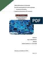 Informe 3 Eduard Gamboa Amplificadores
