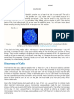 Biotech Cell Theory