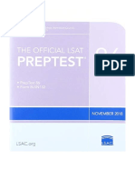 [2019] The Official LSAT PrepTest 86 by Law School Admission Council | (Nov. 2018 LSAT) | Law School Admission Council