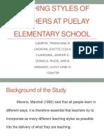 TEACHING STYLES OF TEACHERS AT PUELAY ELEMENTARY SCHOOL.pdf