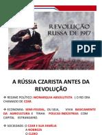 Slides sobre revolução russa