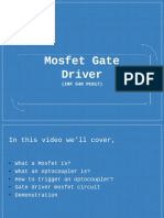 Mosfet Drive with Optocoupler