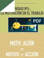 PTO Unidad 6 Motivacion Laboral